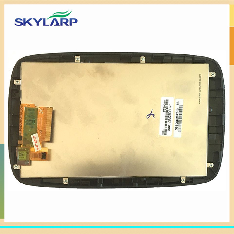 skylarpu 6 inch LCD Screen for TomTom GO 6000 600 GPS LCD display screen with Touch screen digitizer Repair replacement