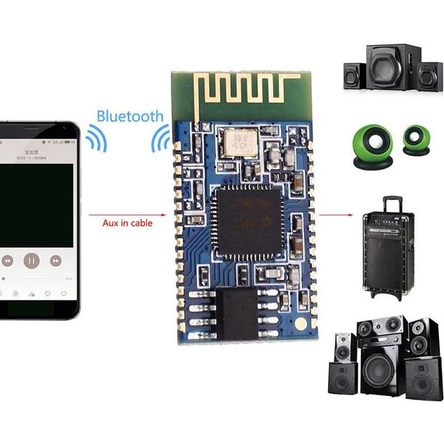 US $3 65 |Cewaal Wireless Bluetooth Stereo Sound Speaker Music Audio  Receiver PCB Board Module DIY Development Boards Replacement Parts-in  Replacement