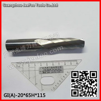 20*65H*115L Carbide CNC Router Bits Single Flute Tools,One flute spiral bits (A) A series