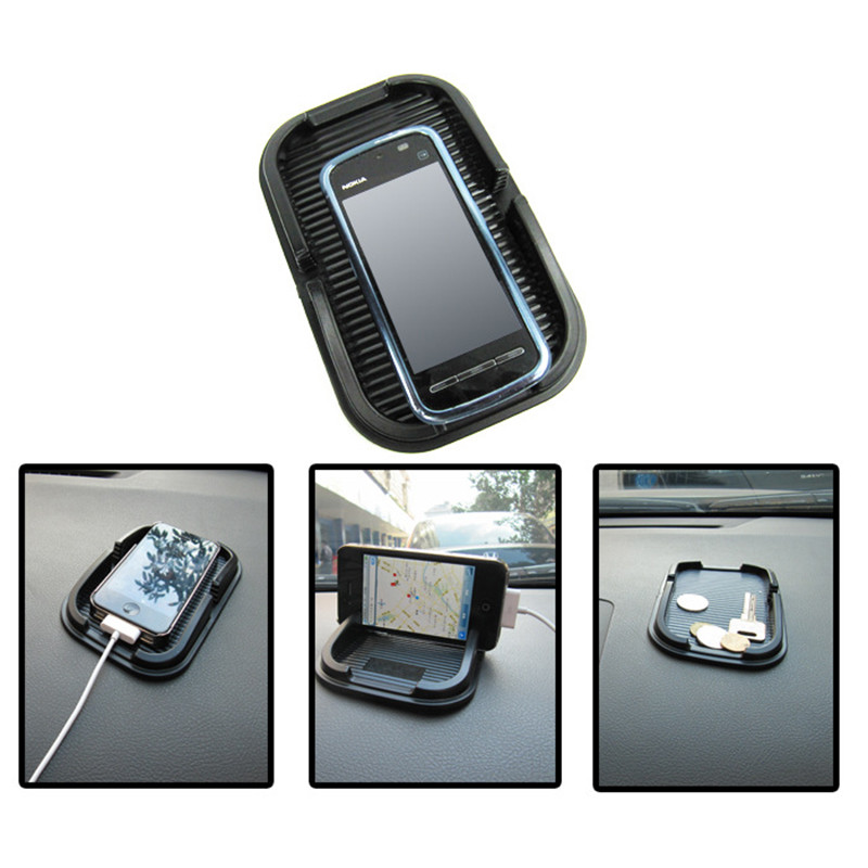 HTB1i4gOLXXXXXaSXXXXq6xXFXXX4 - Black Car Dashboard Sticky Pad Mat Anti Non Slip Gadget Mobile Phone GPS Holder Interior Accessories soporte For meizu m2 mini