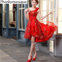 Size2-24W индивидуальные вечерние платья для выпускного бала, Вечерние Короткие вечерние платья, TK214
