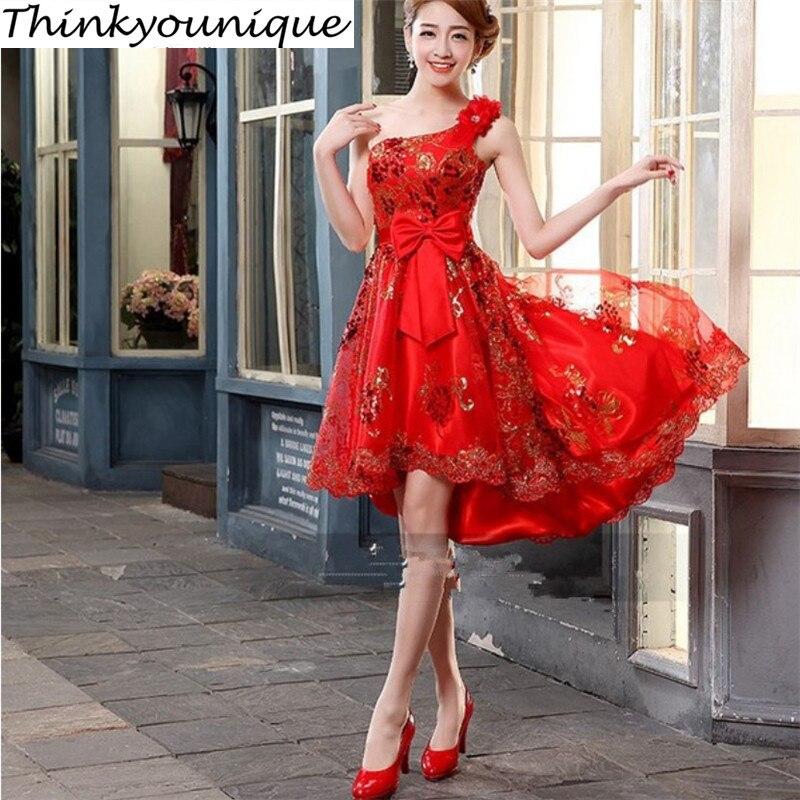 Size2-24W Customized Party Homecoming Prom 정장 짧은 이브닝 드레스 무료 페스티벌 가운 무료 배송 TK214
