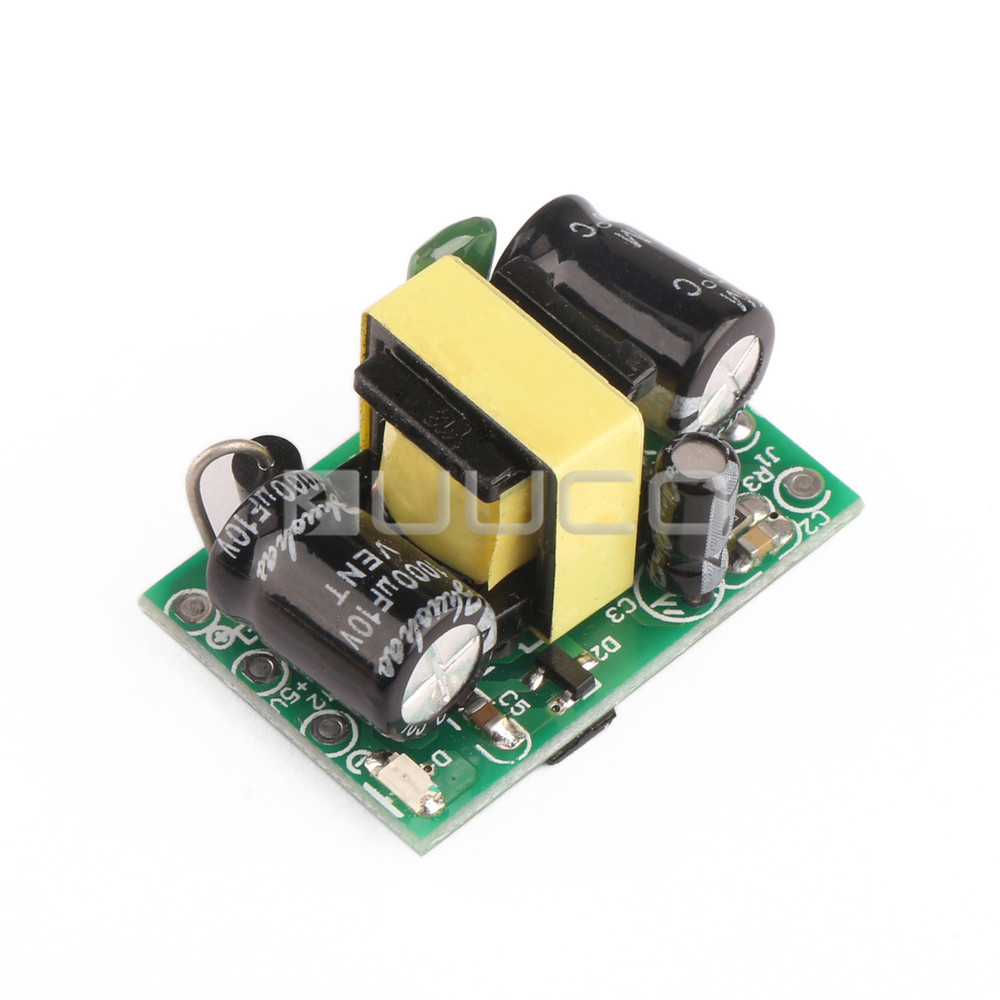 Switching Power Supply/Adapter AC 90V~240V to DC 5V 300mA 1.5W  Buck Converter/Voltage Regulator/Driver Module ac 85v 265v to 20 38v 600ma power supply driver adapter for led light lamp