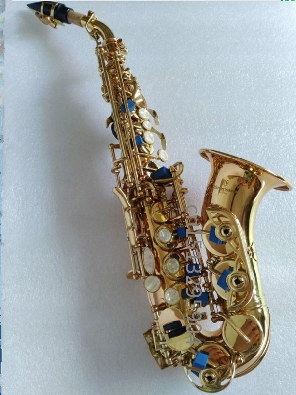 2018 Hot selling Yanagisawa S-991 Curved Saxophone BB Tone Bell B Curved Soprano Sax saxofone for Children Musical Instrument yanagisawa soprano s 902 saxophone bb nickel plated gold key professional sax mouthpiece with case and accessories