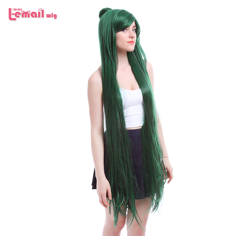 Synthetic None-lacewigs L-email Wig Game Fate Grand Order Yu Miaoyi Cosplay Wigs 120cm Red Brown Heat Resistant Synthetic Hair Perucas Cosplay Wig Goods Of Every Description Are Available