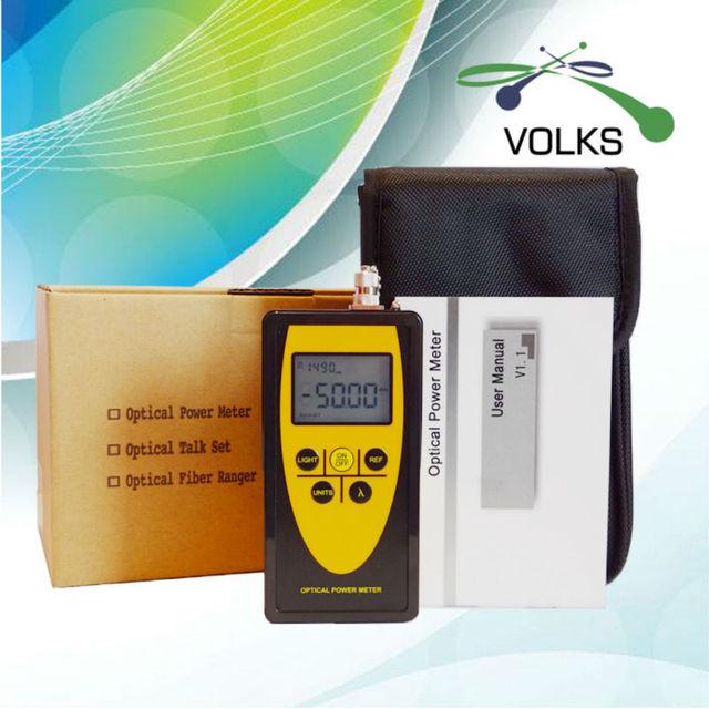 Medidor de potencia óptica VD809C - 50 ~ + 26 dBm con FC intercambiable conector CCTV