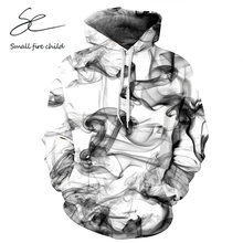 Neue Mode Für Männer/Frauen 3d Sweatshirts Drucken Aquarell Dreamy Rauch Linien Dünnen Stil Herbst Winter Mit Kapuze Hoodies