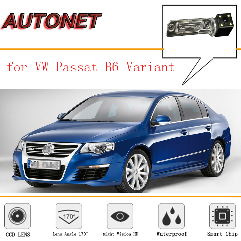 AUTONET Rear View Camera For Volkswagen VW Passat B6 Variant 2005~2010/CCD/Night Vision/Reverse Camera/license Plate Camera