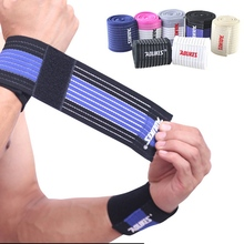 Cotton Elastic Bandage Hand Sport Wristband Gym Support Wrist Sport Band Brace Wrap carpal Tunnel for Men Women 40cm aolikes 1pcs cotton elastic bandage hand sport wristband gym support wrist brace wrap carpal tunnel
