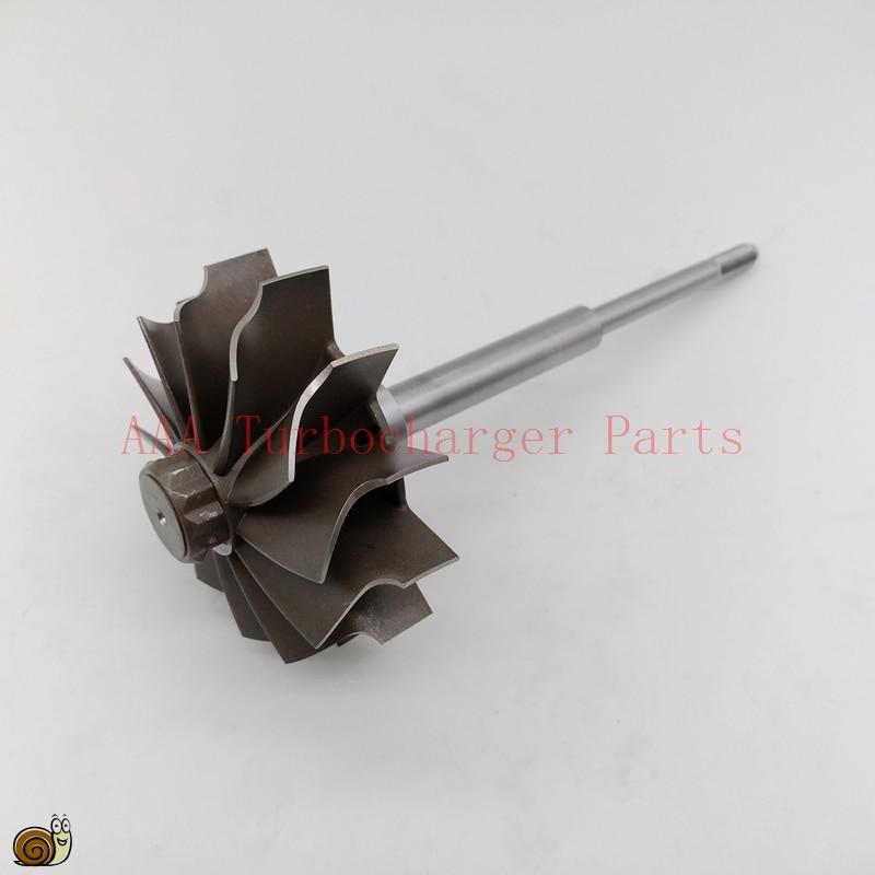 HX40 HX40W Turbo parts Turbine wheel 67mm 76mm 12blades supplier AAA Turbocharger Parts