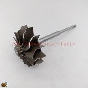 Image 1 - HX40/HX40W Turbo teile Turbine rad 67mm * 76mm 12blades, lieferant AAA Turbolader Teile