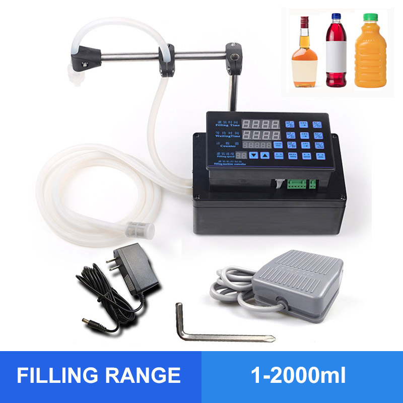 OLOEY Accuracy Digital Liquid Filling Machine Bottled Water Filler Digital Pump For Perfume Drink Water Milk