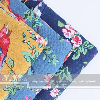 Хлопковое полотно Zakka, ткань для домашний текстиль ручной работы, ткань для дивана, сумки для занавесок, наволочка для мебели, 100x145cm