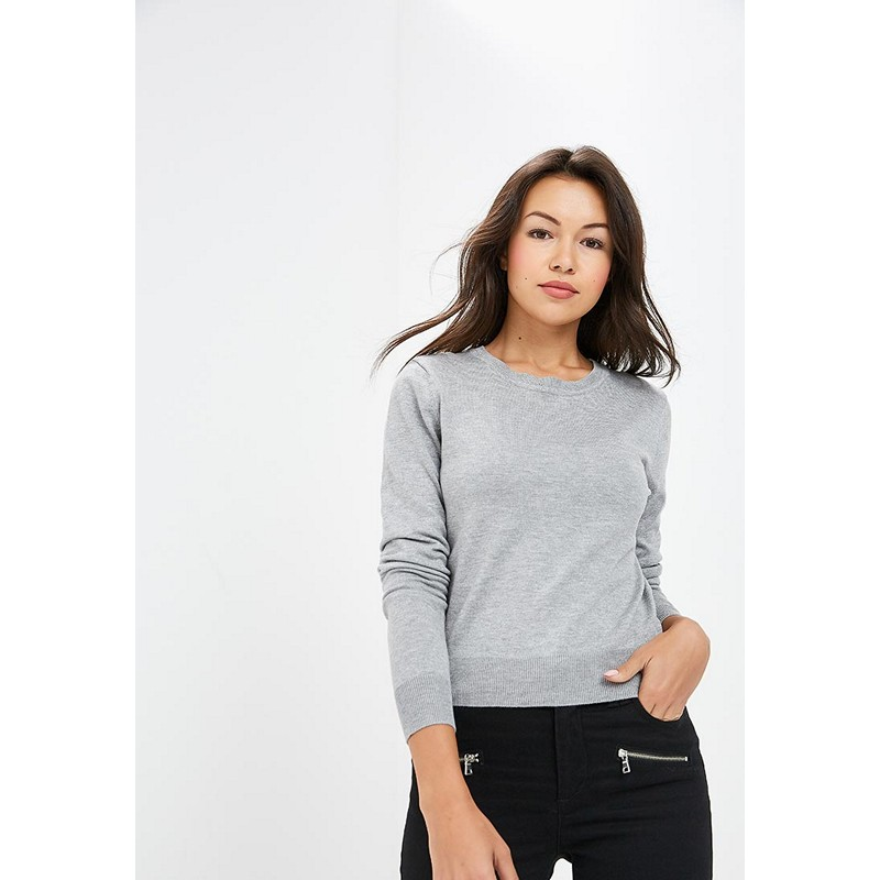 Sweaters MODIS M182W00295 jumper sweater clothes apparel pullover for female for woman TmallFS bear patched plus size pullover sweater