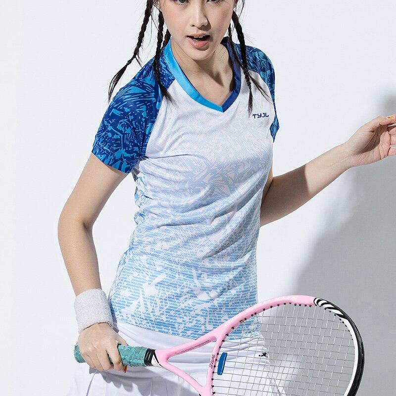 2018 Women Gym Tennis shirts Women, sport tshirts , Tennis tshirts , Badminton shirts , Tennis Tops , Sports tops fitness