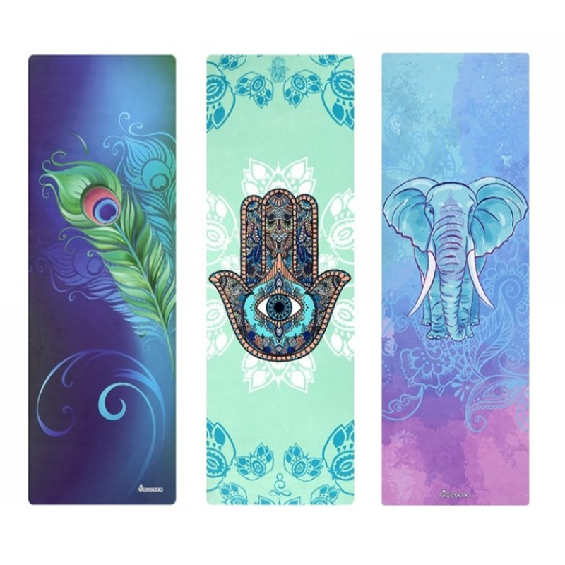 178*61*cm*3.5MM Suede Natural Rubber Non-slip Yoga Mat Thick Anti Slip Printed Pilates Exercise Mat Sport Mats Dance Fitness Pad printed yoga mat travel mat 183 61 0 15cm anti slip foldable yoga pilates pad exercise mats for gym fitness sports dance cover