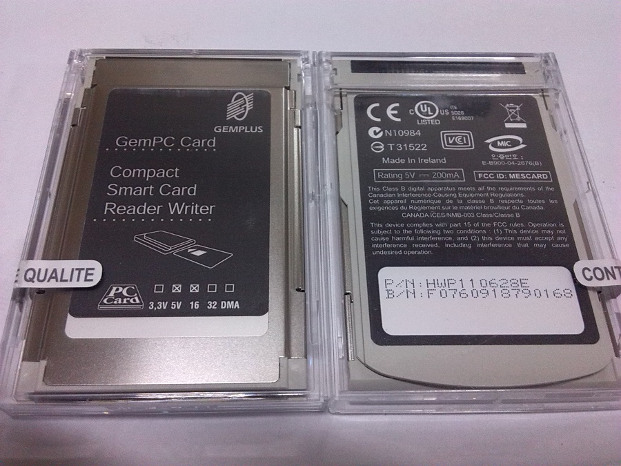 US $27 52 |Gemalto gemplus gempc hwp110628e card smart card reader-in Card  Readers from Computer & Office on Aliexpress com | Alibaba Group