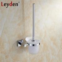 Leyden Brass Toilet Brush Holder Toilet Brush Holder Wall Mounted Chrome Decorative Toilet Brush Holder Bathroom Accessories