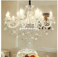 Free Shipping Honey Crystal chandelier Living Room lustre sala de jantar cristal Modern Chandeliers Lighting Home Decoration