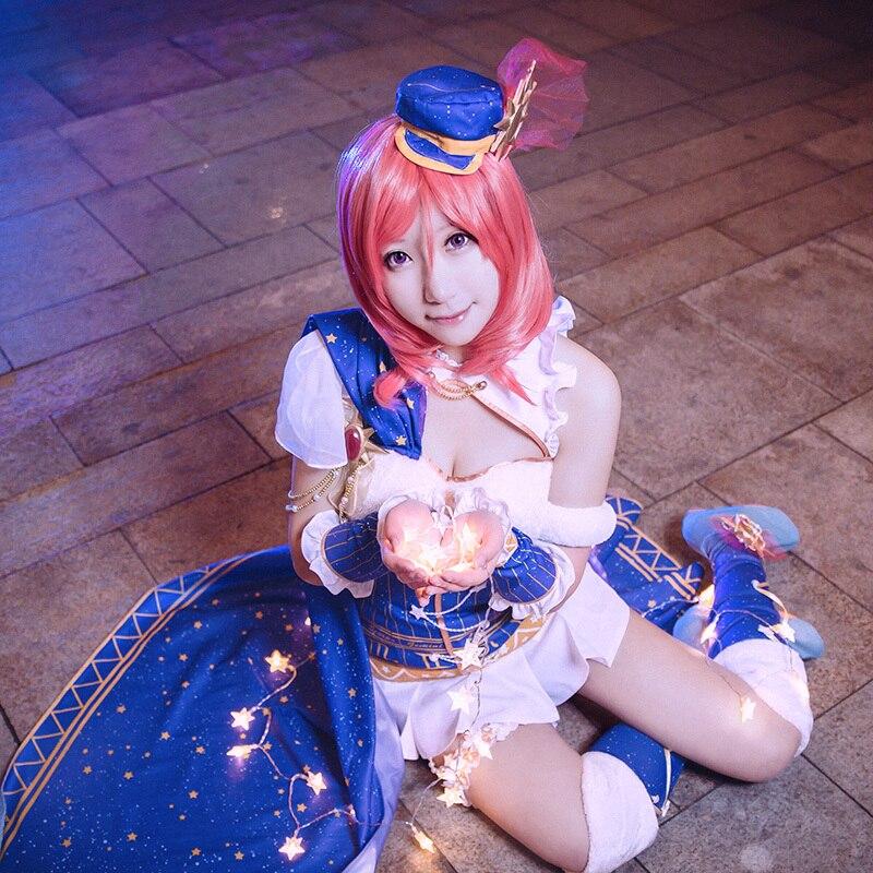 Love Live Maki Nishikino Cosplay Lovelive School Idol Project Constellation Awakening Costume Dress Japanese Anime Cosplay цена