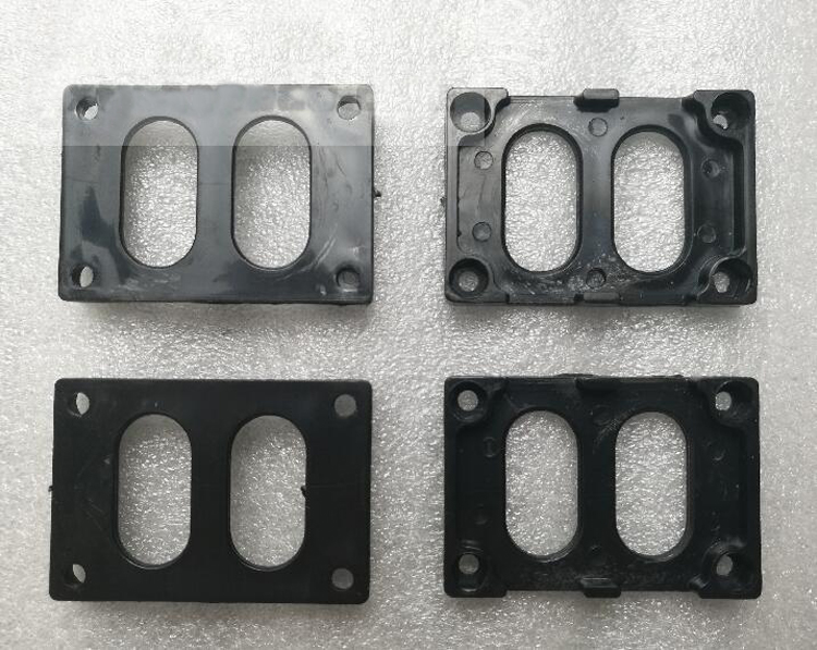 4PCS Plastic Bracket for RC O-boat CAT Boat Mono ESC Receiver Fixed Seat Plate 50mm*36mm*6mm High Strength Black Holder