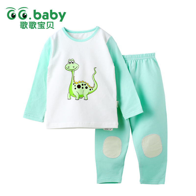 Children's Girls Pajamas Dinosaur Clothes Baby Boy Pajama Cotton Suits Baby Girl Baby Kids Pajamas Set Infant Boys Clothing Sets 2018 kids pajamas sets baby girl and boys clothes teenage girls pajamas suits long sleeve tops and pants 2 pieces clothing sets