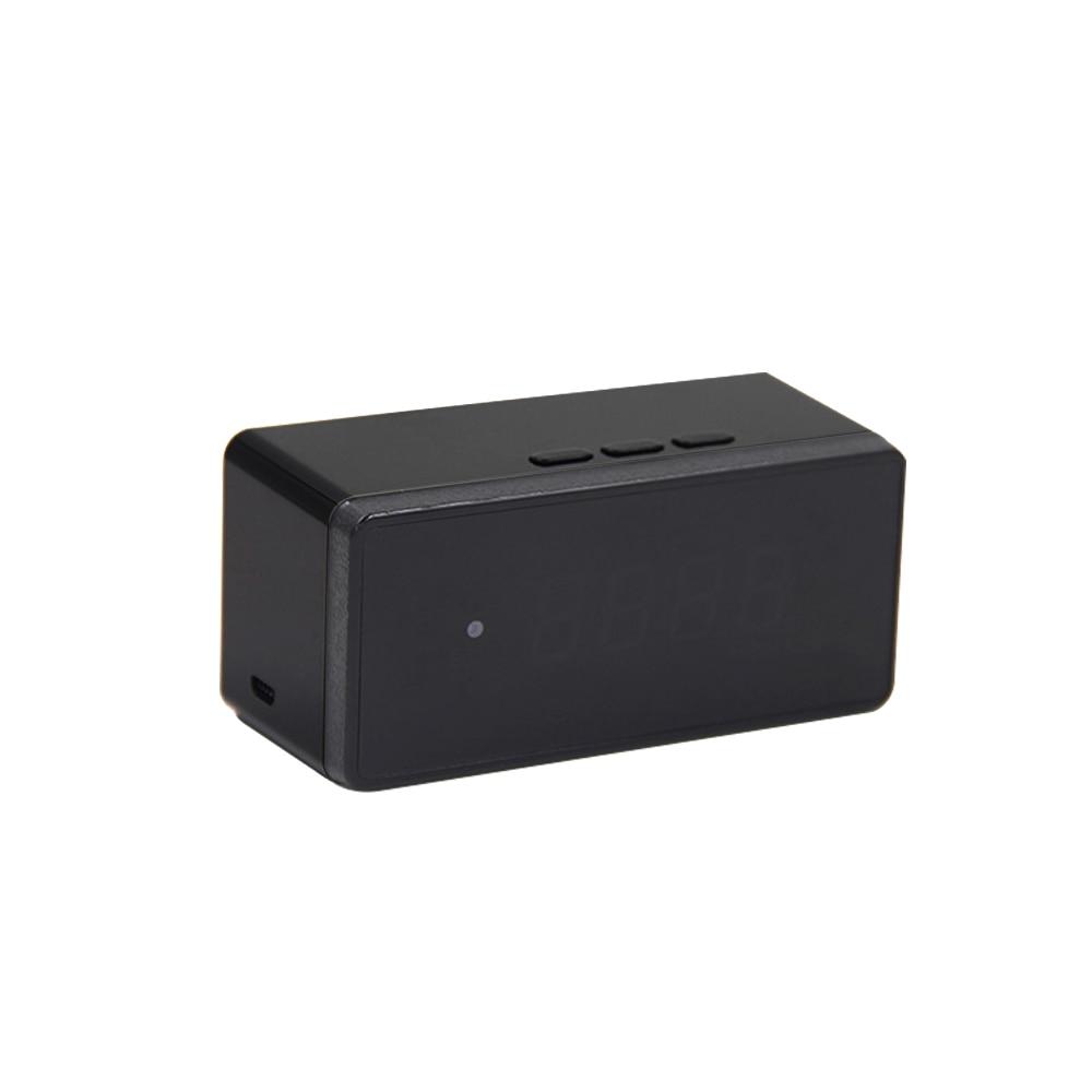 Volemer Clock Camera Alarm Setting 720P HD H.264 IP Mini Kamera Night Vision Table Clock Camera Video Cam Mini DV DVR Camcorder