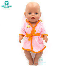 Clothes for doll fits 43 cm Baby Born zapf dolls accessories Pajamas piece suit Sportswear