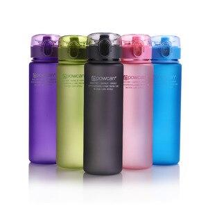 Image 3 - زجاجة مياه 560 مللي 400 مللي البلاستيك درينكوير جولة الرياضة في الهواء الطلق المدرسة مانعة للتسرب ختم غورد تسلق زجاجات مياه