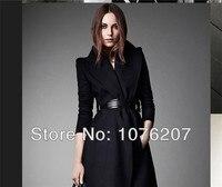 2013 Otoño Invierno nueva marca llegada ropa de lujo femenino alta cintura mujeres cinturón con 2 sashes escudo XS S m L XL