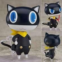Anime Persona 5 Morgana Variant Action Figure Nendoroid 793 P5 Mona Black Cat PVC BJD Figure Model Gift Toys
