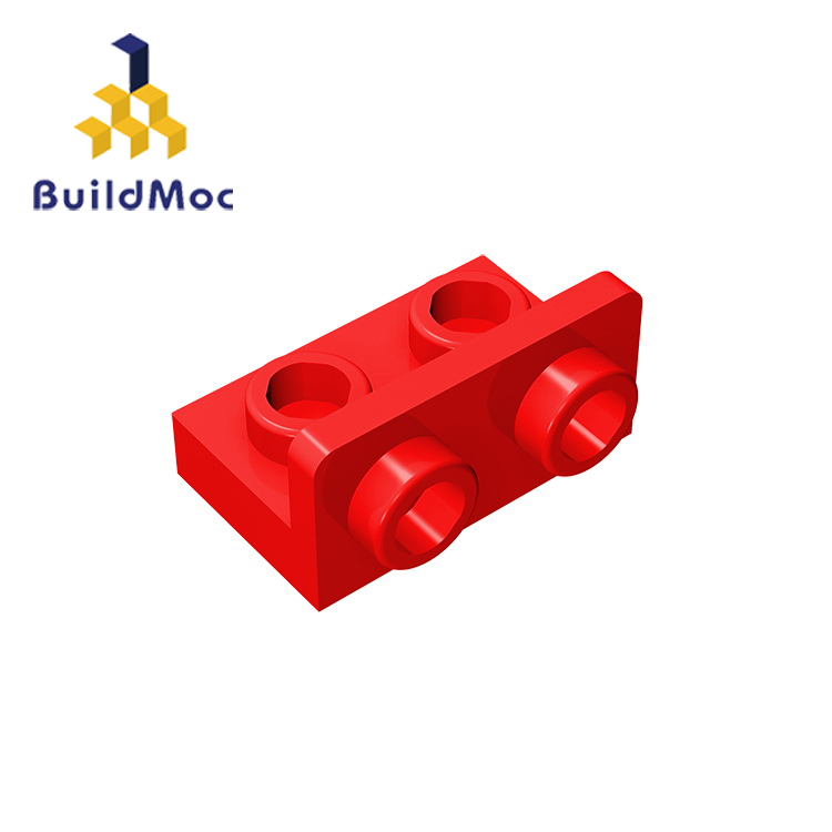 BuildMOC Compatible Assembles Particles 99780 1x2-1x2 For Building Blocks DIY LOGO Educational High-Tech Spare Toys