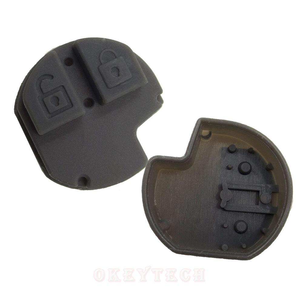 2 Tasten Ersatz Remote Fob Auto Schlüssel Fall Reparatur Silikon Pad Für Suzuki Schlüssel Swift Grand Vitara Sx4 Liana Schlüssel Shell Pad