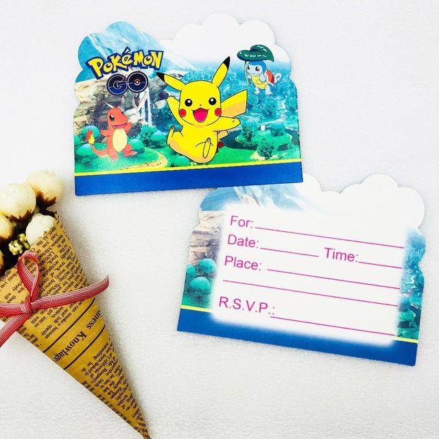10pc Lot Cartoon Sofia Trolls Spiderman And Minions Batman Invitation Card Childrens Birthday Party Supplies Decoration