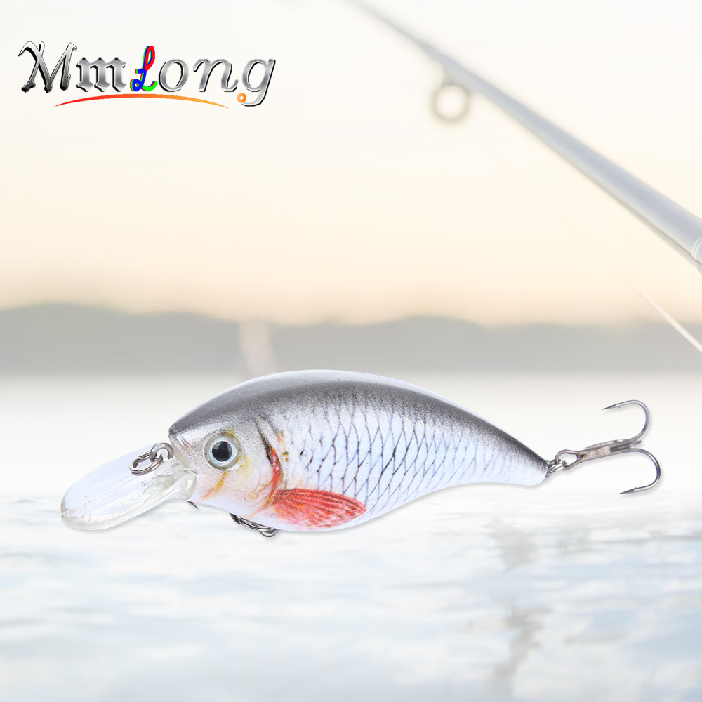 Mmlong 9cm Artificial Fishing Lures Hard Bait SAH07B 16.3g Pike Crankbaits With Hooks Floating Wobblers Fishing Tackle Pesca