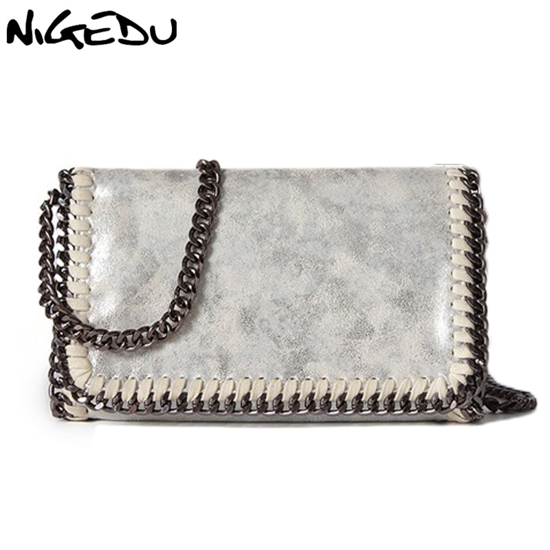 NIGEDU brand design Women Crossbody Bags Chain small Ladies Shoulder bag clutch bag bolsa feminina luxury evening bags Clutches стоимость