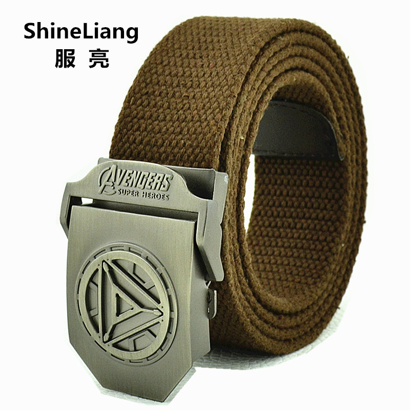 2019 Men's Tactical Belt Alloy Buckle Military Canvas Body Width 3.8CM Designer High Quality Fashion Brand Length 110 140 160 CM
