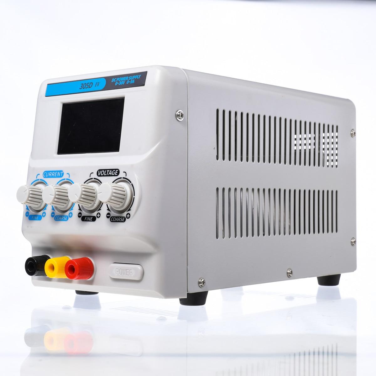 Nouveau Mini alimentation numérique réglable DC 30 V 5A alimentation à découpage de laboratoire 220 V-240 V alimentation cc réglable