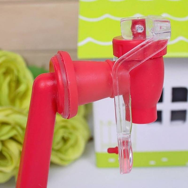 Useful Home Upside Down Coke Bottle Soda Water Soft Drinking Dispenser Faucet Saver Holder in Hand Press Water Pumps from Home Garden