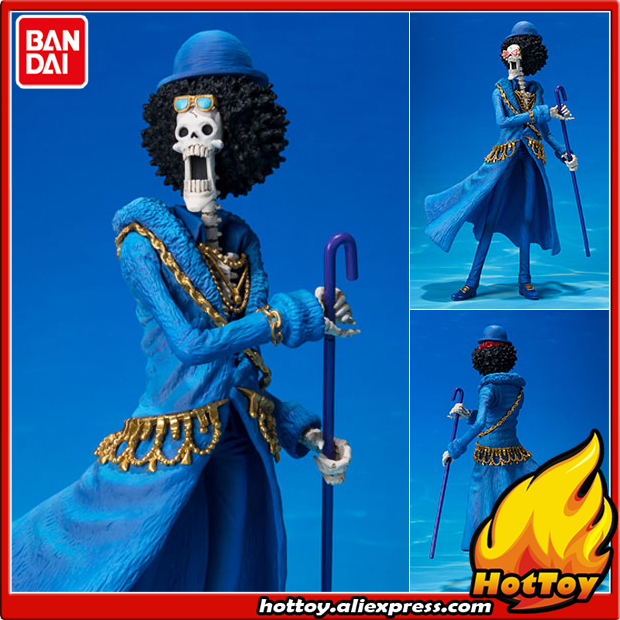 100% Original BANDAI Tamashii Nations Figuarts ZERO Collection Figure - Brook -ONE PIECE 20th Anniversary ver.- from ONE PIECE genuine megahouse p o p portrait of pirates excellent model limited one piece nefeltari vivi ver bb collection figure