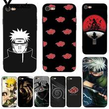 Hokage Naruto Phone Case for iPhone 7 X 6 6S 8 Plus X 5 5S SE 5C