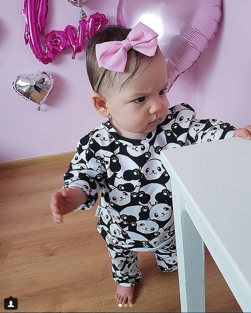 Family Matching Clothes Outfit Set 2019 Women Mother Daughter Son Baby Kids Panda Pajamas Sleepwear Pyjamas Cute Sweet Nightwear