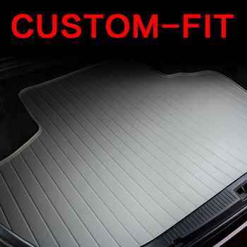 Custom fit car trunk mat for Jeep Cherokee Wrangler Commander Compass Patriot 3D car-styling heavyduty tray carpet cargo liner