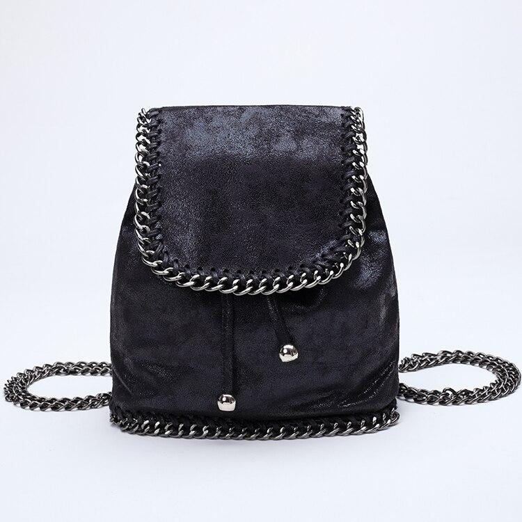3f8130dc195d 2018 Summer Fashion Mini Backpacks for Women Small Drawstring Chain Bag  Designer Backpacks Women High Quality Girl Mini Rucksack-in Backpacks from  Luggage ...
