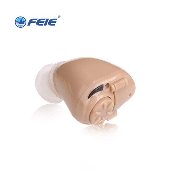 Mini Portable Headphones Deaf Hearing Aid Wireless Audiofone  Apparatus Hearing Device Aide Auditive Hot sell Free ship S-218 always fresh seal vac 8 set
