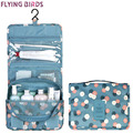 FLYING BIRDS 2017 Women Cosmetic Bags Multifunction Makeup wash bag portable Bag toiletry waterproof Travel Bags Lady LS8904fb