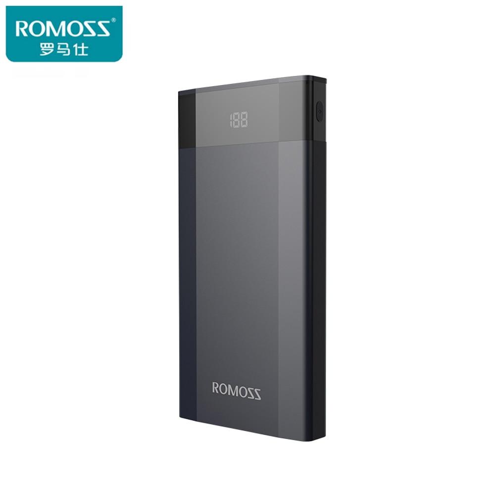 Original ROMOSS Banco de la Energía 10000 mAh DP10 Li-polímero de Litio de Carga