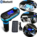 3-in-1 Universal Car Kit MP3 Player FM Transmitter Car modulator radio Dual Port Car Charger + Remote Control for iPhone x CR003