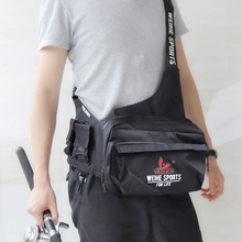 3-Layer Large Capacity Durable Nylon Fishing Bag Messenger Waist Bag Waterproof Fishing Lure Reel Line Tackle Storage Bags цена