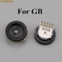 Chenghaoran 30 pçs interruptor de volume botão substituição para gameboy clássico para gb clássico dmg placa mãe potenciômetro